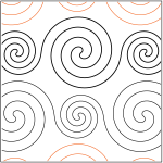 pattern: Spirals Large and Small